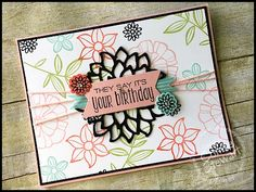 What's New Wednesday? Falling Flowers Bundle - see LOTS of fun ideas using this…