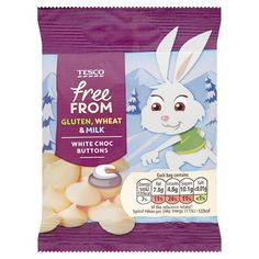 Tesco Free From White Chocolate Buttons 25G - Groceries - Tesco Groceries