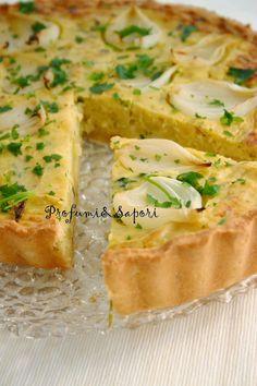 Profumi&Sapori: Crostata di cipolle con parmigiano e bacon di Luca Montersino