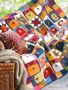 (7) Name: 'Quilting : CATNIP QUILT PATTERN on crafty