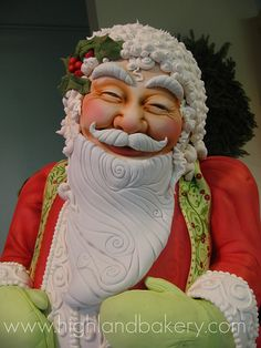 Santa Cake by Karen Portaleo/ Highland Bakery, via Flickr