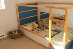 2 in 1 Toddler Bed