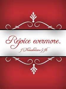 Rejoice evermore