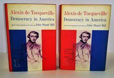 Alexis de Tocqueville Democracy in America Vol 1 -2 1st Edition Politics History