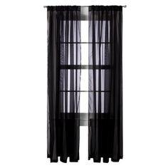 Room Essentials Voile Window Sheer Pair