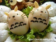 Totoro eggs