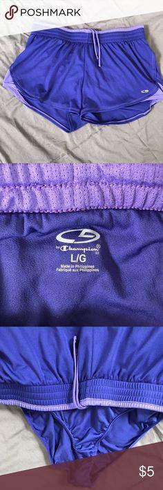 Purple Running Shorts Running Shorts. All items from smoke free home. Champion Shorts