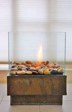 DIY Table Top Fire Bowls - The Garden Glove