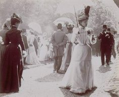 """the-randy-dandy: """" Somewhere in La Belle Époque, Paris. """" 1897 or 1898, I'd say!"""