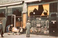 Verwoeste joodse winkel