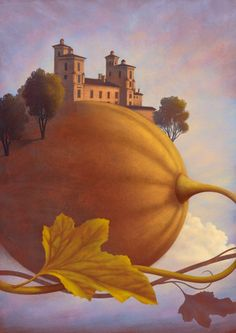 Illustration of Casteldidone by Paolo Domeniconi for Tapirulan Magical Pictures, Hey Diddle Diddle, Ipad Art, Wonderful Picture, All Nature, Art Tutorials, Illustrators, Graphic Art, Fantasy Art