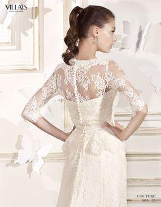 SIRA | Wedding Dress | 2015 Couture Collection | by Sara Villaverde | Villais (close up back)
