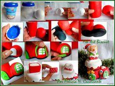 polymer clay cernit, masa flexible, cold porcelain, porcelana fria, biscuit