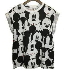 Hybrid Apparel Disney Retro Mickey Mouse Boys Short Sleeve T-Shirt M NWT Blue