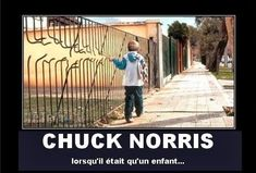 Chuck Norris – The early years. Laugh your self out with various memes that we collected around the internet. Chuck Norris Memes, Funny Images, Funny Photos, Demotivational Posters, The Funny, I Laughed, Laughter, Hilarious, Funny Jokes