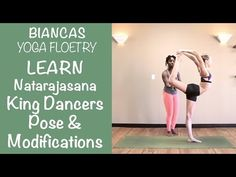 ▶ Yoga: Full King Dancer Pose with Modifications - YouTube