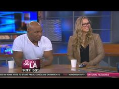 With Mike Tyson. Be part of the #ArmbarNation - visit RondaRousey.net