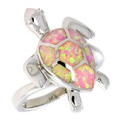 Turtle ring, wish this came in smaller sizes for Phoenix.