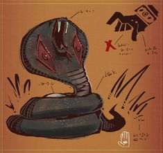 Cobra by MisterFeelgood on DeviantArt I Am Really Sorry, Concept Art, Cool Designs, Pokemon, Art Gallery, Told You So, Creatures, Fan Art, Deviantart