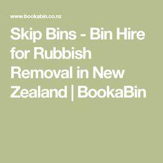 Skip Bins - Bin Hire for Rubbish Removal in New Zealand | BookaBin