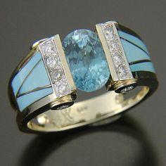 Gems Jewelry, Jewelry Art, Jewelry Accessories, Fine Jewelry, Fashion Jewelry, Jewelry Design, Women Jewelry, Unique Jewelry, Aquamarine Jewelry