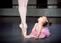 Inspired ballerina