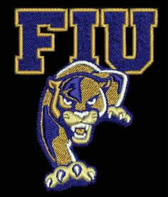 Florida International University Embroidered Patch