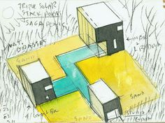 STEVEN HOLL ARCHITECTS    Principles of Design in use: Proportion, Variety, Unity