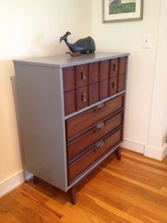 Modern Mid century Dresser by MilieuSiecle on Etsy, $450.00