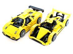 Lamborghini Valente & LMP2 Hound | by BrickMonkey