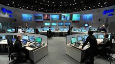 Space in Images - 2012 - 06 - Main Control Room at ESA's Space Operations Centre