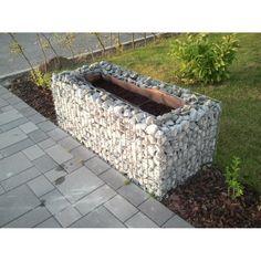 Gabions24 - Raised garden , mesh size 5 cm, 200x100x100 cm, wall thickness 15 cm - Gabion raised garden beds
