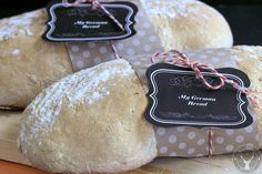 Learn about this bread from farm women in Austria. Easy recipe for bread and delicious although it is not exactly a German bread.