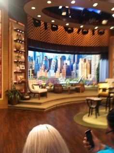 Live the Kelly and Michael Show Morning Tv Shows, Liquor Cabinet, Live, Furniture, Home Decor, Decoration Home, Room Decor, House Bar, Home Furnishings