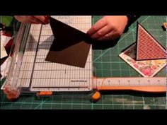 Kraftin' Kimmie stamps - Twisted Easel Card shape tutorial - YouTube