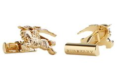Burberry cufflinks for year of the horse