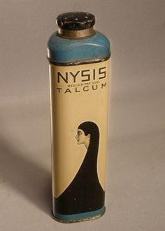 Nysis Vintage Talcum Powder Tin