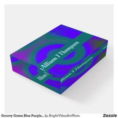 Keep your papers on your desk with Swirl paperweights from Zazzle. Green Colors, Blue Green, Purple, Pink, Green Gifts, Paper Weights, Stationery, Abstract, Summary