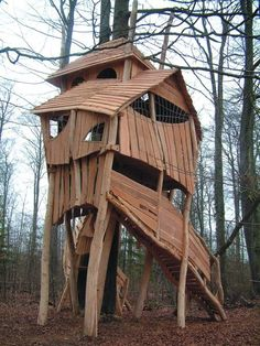 If I ever have kids, I will get them this tree house!