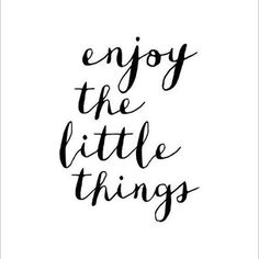 // Re-post from @lucyleoorganic // #wisewords #enjoythelittlethings #enjoylife #happiness
