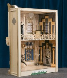 Art Deco Hollywood Dollhouse with Bespaq Furniture and Mannequins 1 12 Scale | eBay