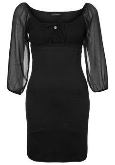 Vive Maria - PRIVAT DIARY - Jerseyklänning - Svart