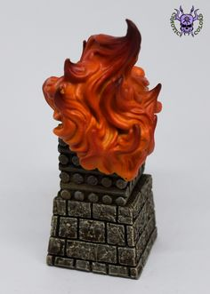 Terrain & Scenery: Flaming Pyre (by Mantic) #ChaoticColors #paintingminiatures #Miniaturepainting #Tabletopgames #Wargaming #Scalemodel #art #creative #hobby #dungeonsanddragons #dnd #dungeonsaga #frostgrave #rpg #roleplay #terrain #scenery #paintingwarhammer #Warhammerpainting #warhammer #wh #gamesworkshop #gw #ageofsigmar #aos #sigmar #whfb #fantasy #warhammerfantasy #Kingsofwar #kow #kingsofwarvanguard #pyre #flame #fire #mantic