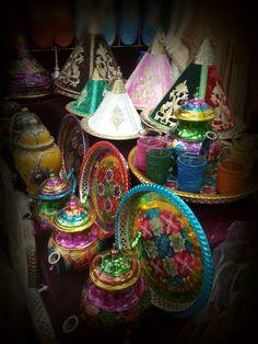 GV - Morrocan Tea Pots