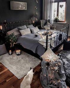 Room Ideas Bedroom, Home Decor Bedroom, Master Bedroom, Bedroom Small, Bedroom Inspo, Cozy Room, Aesthetic Bedroom, Dream Rooms, Luxurious Bedrooms