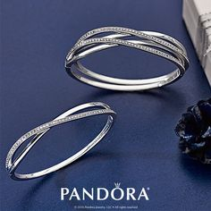 Discover Pandora's unique selection of jewelry including charms, rings, bracelets, and necklaces to match your personality. Pandora Bangle Bracelet, Pandora Jewelry Box, Pandora Rings, Charm Jewelry, Pandora Charms, Bangle Bracelets, Pandora Beads, Diamond Solitaire Rings, Diamond Bangle