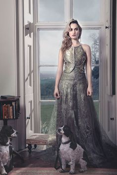 Lily James - inspiration for Abigail Grey