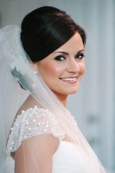 Classic wedding makeup {Photo by Dear Weslyann via Project Wedding}