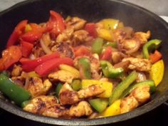 csirke fajitas recept Recipe Images, Fajitas, Kung Pao Chicken, Poultry, Hamburger, Beverages, Food And Drink, Ethnic Recipes, Foods