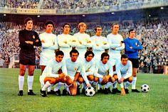 EQUIPOS DE FÚTBOL: REAL MADRID contra Barcelona 28/11/1971